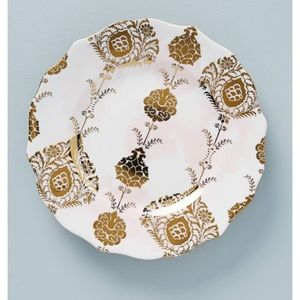 Anthropologie Patina vie salad plate set of 2 new